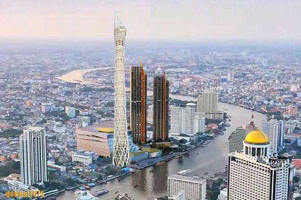The Bangkok Observation Tower will be an imposing addition to the Thai  capital s skyline 44111db1c4