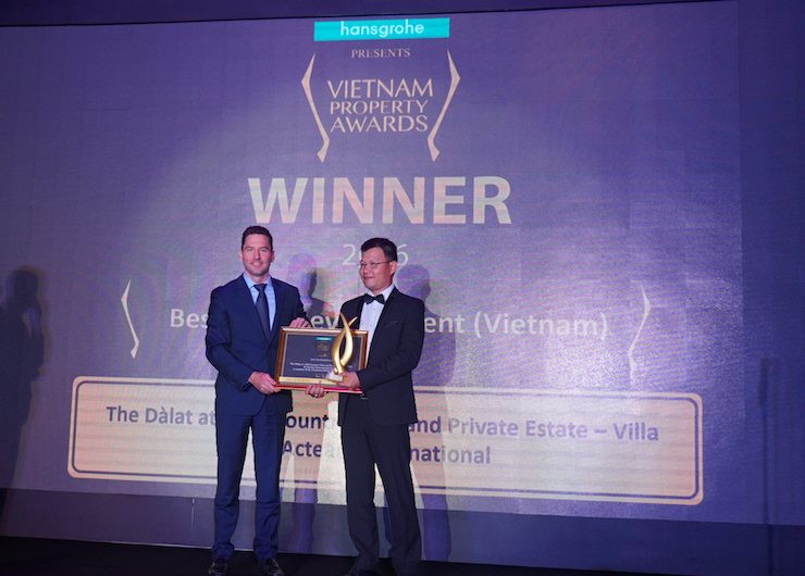 5 awards went to The Dàlat at 1200 Country Club and Private Estate – Villa and Condo by Acteam International Co Ltd, a company of the Centurion Global Group Singapore