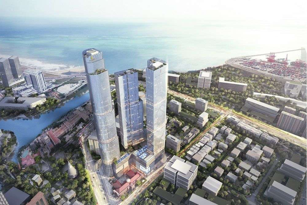 Artist's impression of The One in Colombo, Sri Lanka