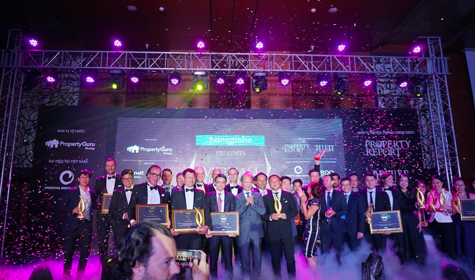 Celebration: The Vietnam Property Awards 2016 was the biggest event of the country's real estate calendar