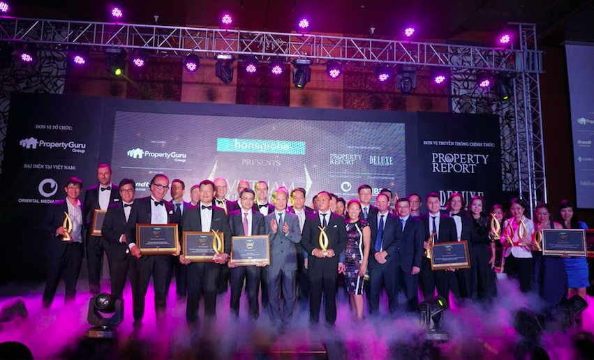 The Winners and Highly Commended at the Vietnam Property Awards