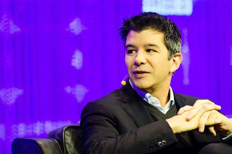 Former Uber chief executive Travis Kalanick in Paris in 2013. Heisenberg Media/Wikimedia Commons