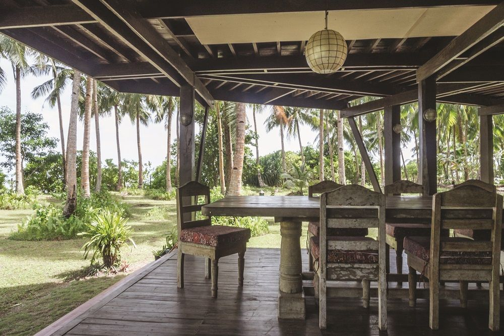 The property subscribes to a communal aesthetic that is in keeping with Siargao's popularity with young weekenders from bigger cities in the Philippines