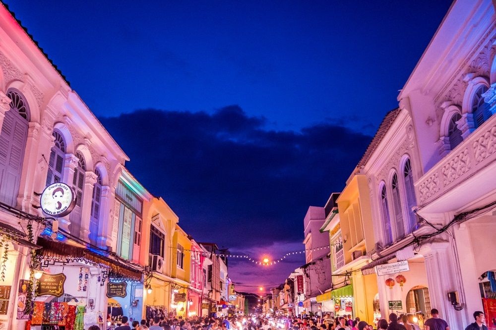 Phuket Sunday Walking Street Market. BREEZY STOCK/Shutterstock