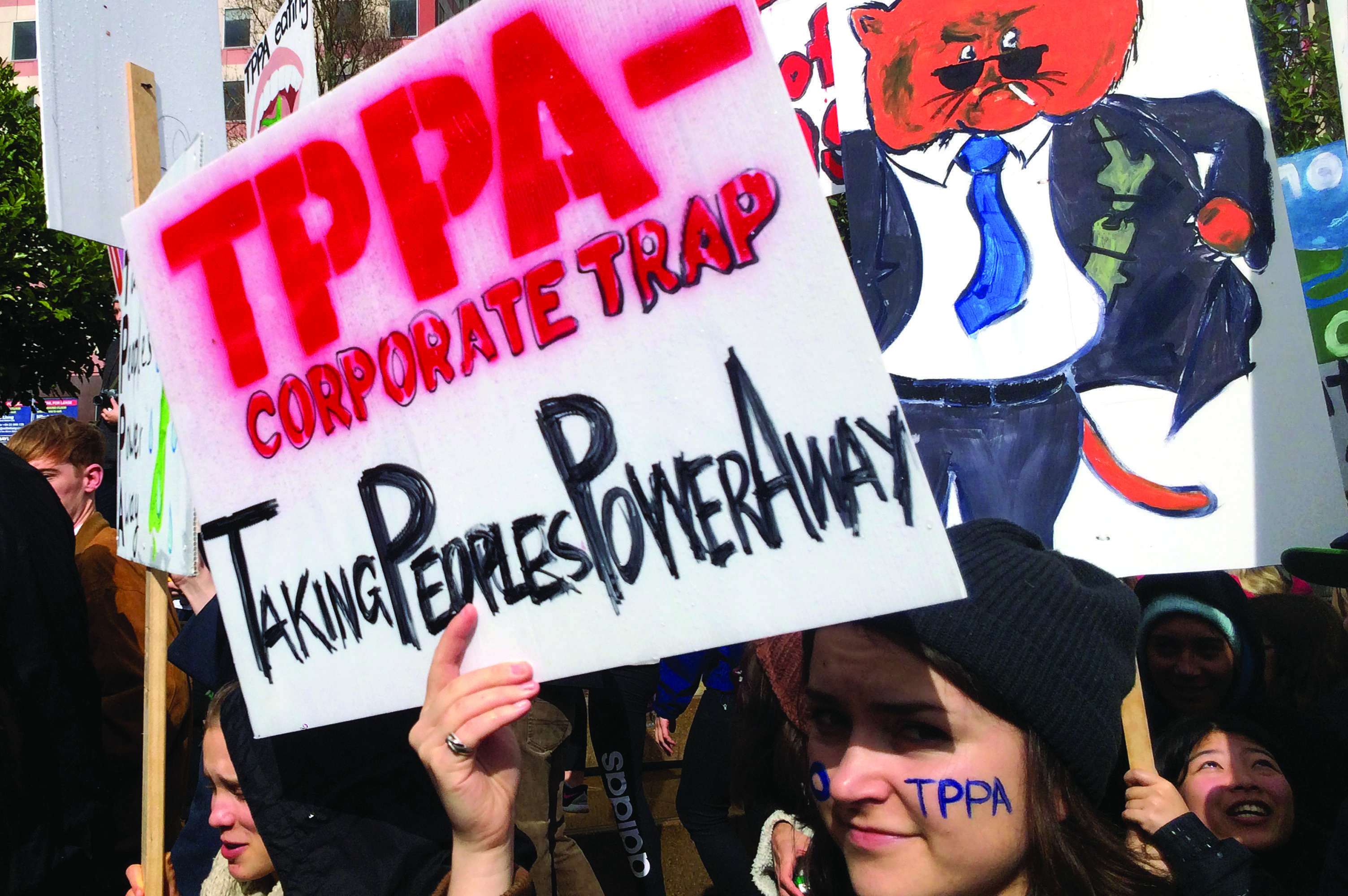 The TPP trade deal has been divisive among politicians and the public alike