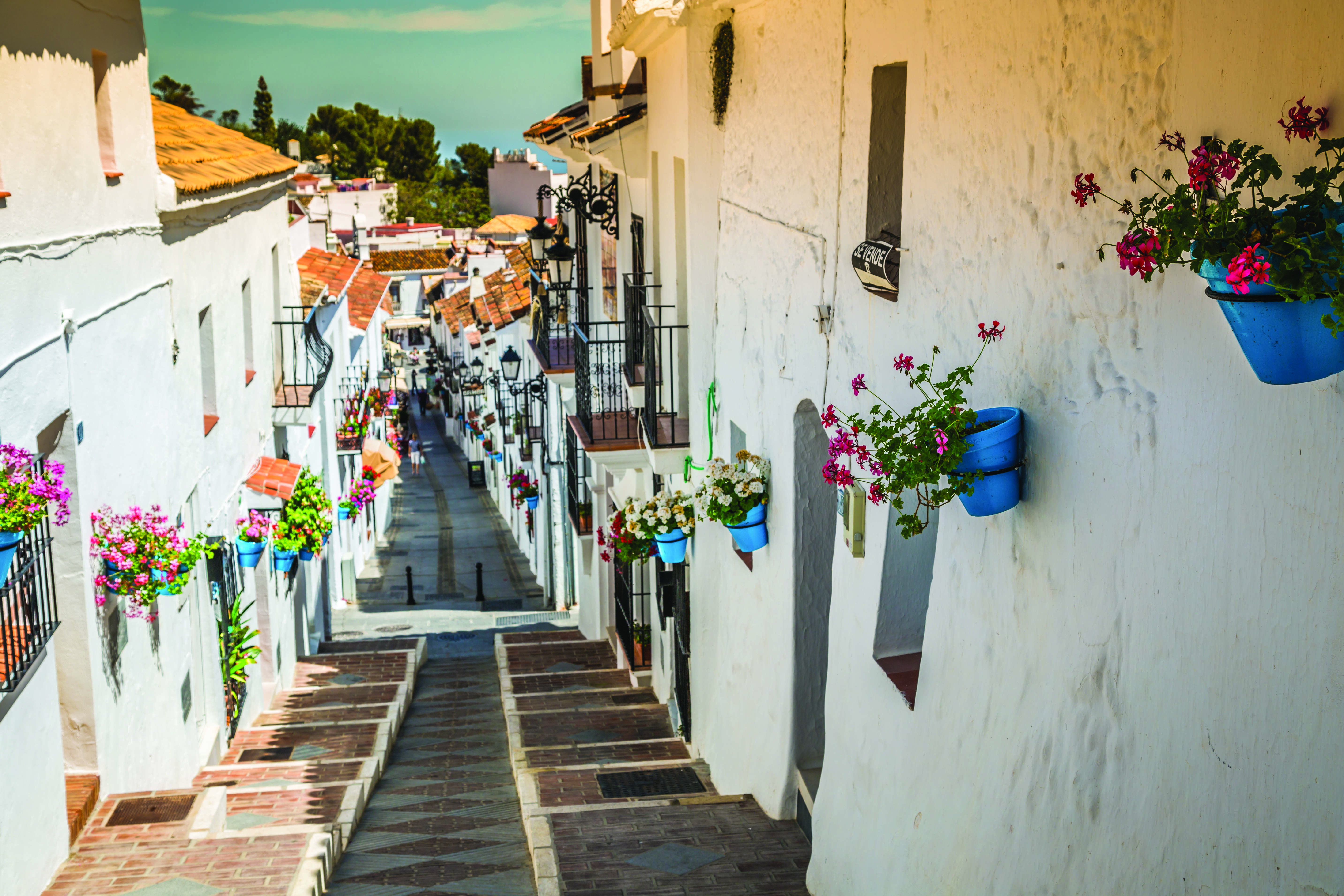 While Andalucia in southern Spain is famous for its built-up resort areas, the region has charm in abundance in picturesque villages such as Mijas