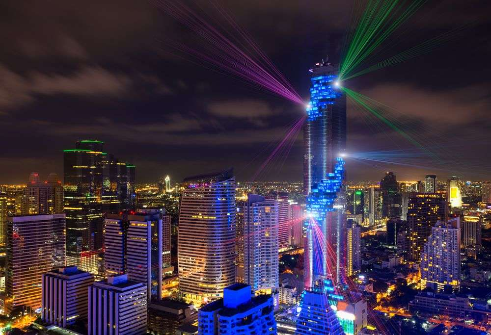 Mahanakhon is the highest building in Bangkok. Aunging/Shutterstock