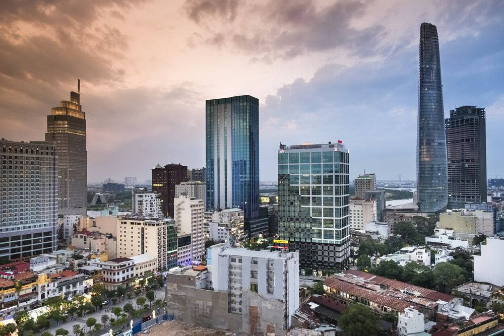 Ho Chi Minh City is the commercial centre of Vietnam. Quang nguyen vinh/Shutterstock