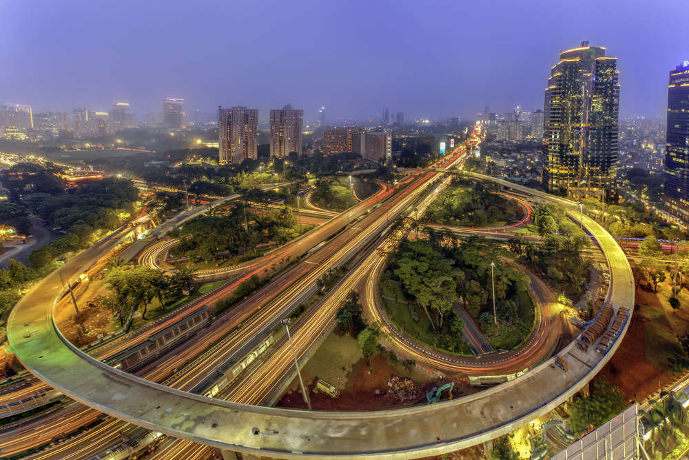 The iconic Semanggi Flyover in Jakarta. Indonesians were among the most optimistic respondents in the new PropertyGuru Regional Consumer Sentiment Survey. Andreas H/Shutterstock