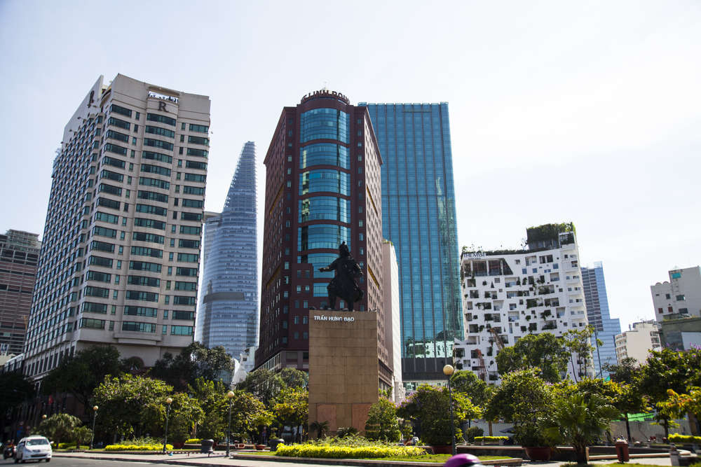 Luxury buildings on the rise in Ho Chi Minh City, formerly known as Saigon. melis/Shutterstock