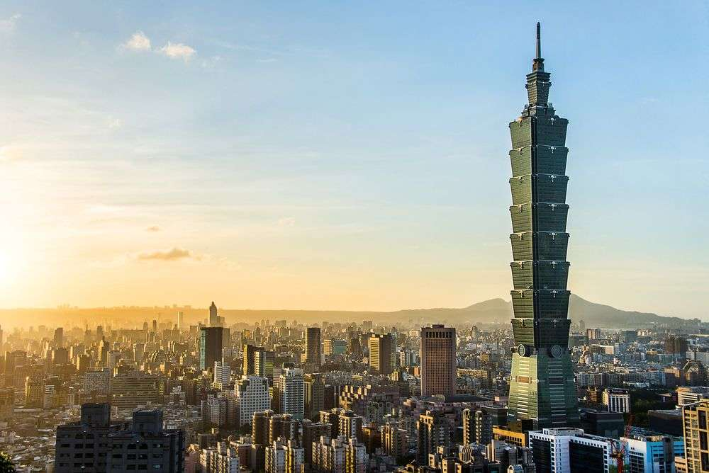 The Taipei World Financial Center was officially classified as the world's tallest building from 2004 to 2010. Kikujungboy/Shutterstock