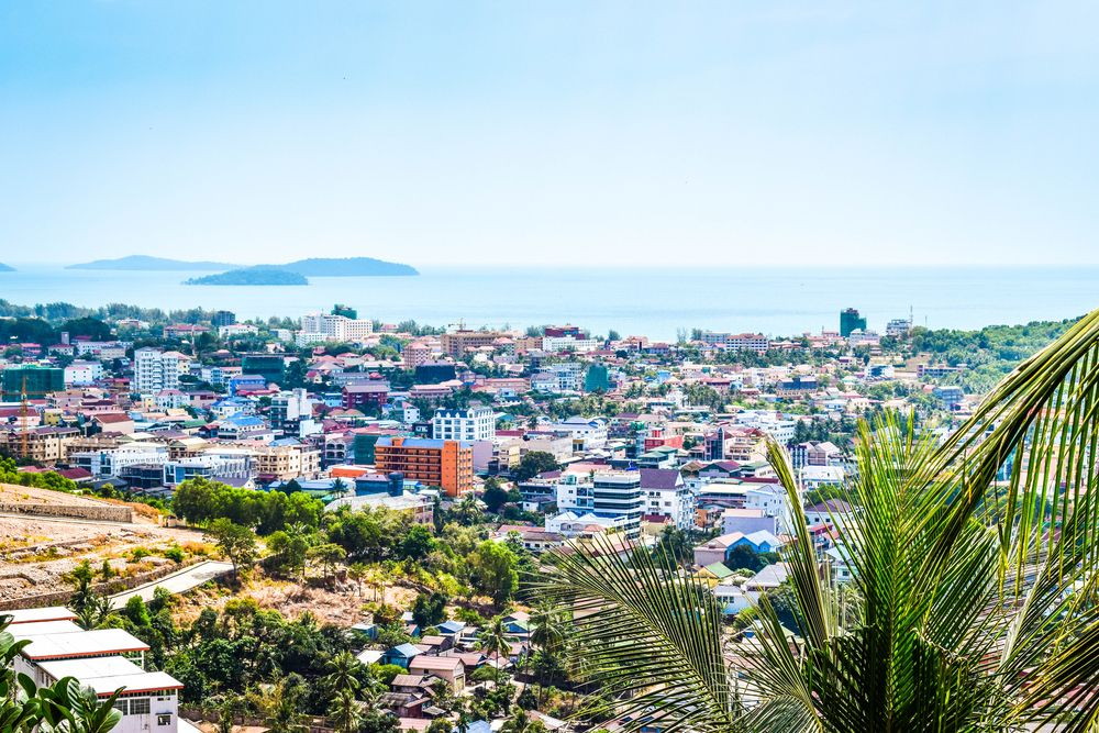 The southern city of Sihanoukville has transformed from a sleepy favourite of backpackers to a place replete with sleek condos and casinos: largely driven by Chinese investment. Nikolette Legian/Shutterstock
