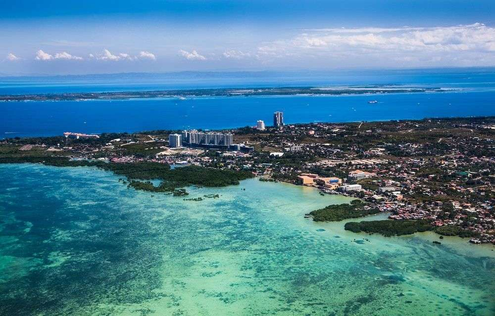 Cebu from the sky. Image: Aleksandar Todorovic/Shutterstock