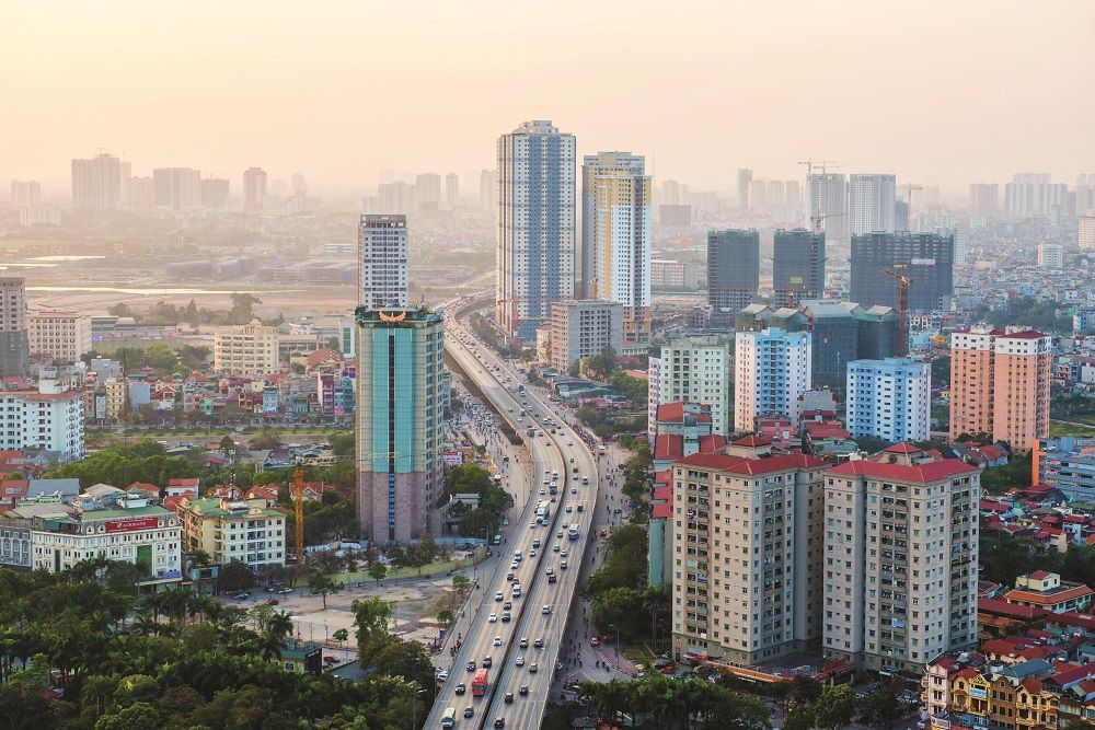 Hanoi, the capital, may be well known for its tranquil lakes and historic architecture but it is building new developments that are drastically altering the flavour of the city