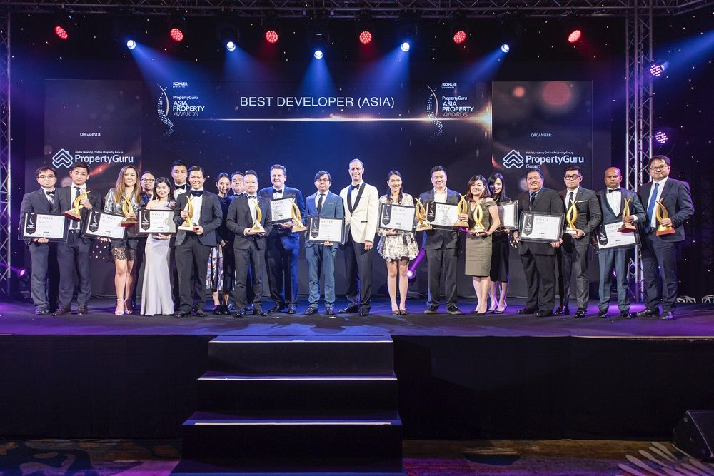 This year's Best Developer winners from the PropertyGuru Asia Property Awards series gathered in Bangkok for the culminating event